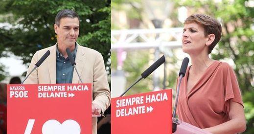 Ferraz rechaza que María Chivite sea presidenta de Navarra con la abstención de Bildu