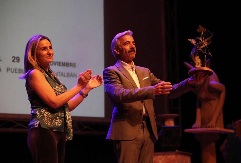 Imanol Arias, premio 'Toledo de Cine' dentro del Festival CIBRA