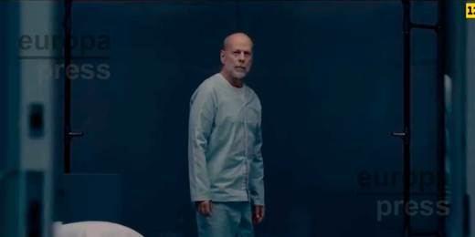 Fotograma de 'Glass', el cierre de la trilogía iniciada con 'El Protegido', con Bruce Willis y Samuel L.Jackson en el reparto.