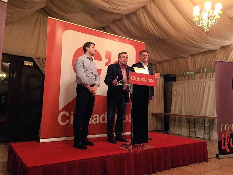 'Satisfacción' en el equipo de Ciudadanos por los tres diputados electos