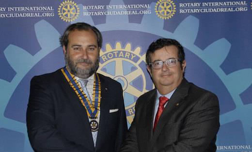 Santiago Selas, nuevo presidente del Club Rotario Ciudad Real