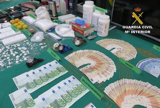 Desmantelado un laboratorio de cocaína en Albacete: hay 15 detenidos