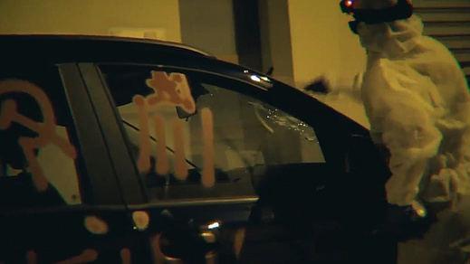 Independentistas de Arran destrozan un coche para protestar contra el turismo en Mallorca