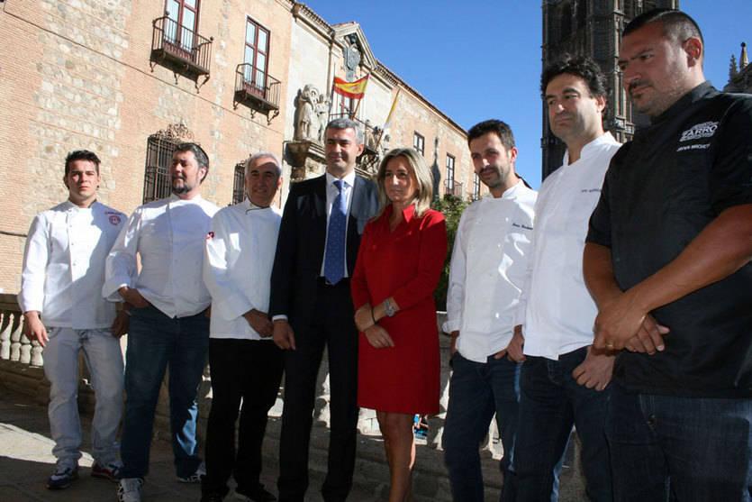 Seis grandes chefs de Toledo respaldan la candidatura de la ciudad como Capital Gastronómica en 2016