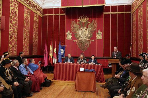 Toledo acoge el nombramiento de los socios de honor de la Cofradía del Queso Manchego