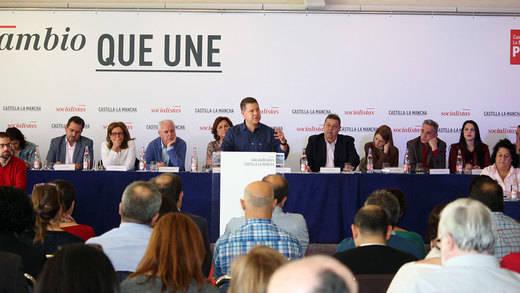 El PSOE-CLM presentará 188 enmiendas al programa electoral de Pedro Sánchez