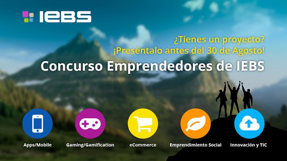 Llega la 6ª edición del Concurso de Emprendedores de IEBS