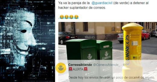 Los mejores memes sobre el 'narco-hackeo' a la cuenta de Correos