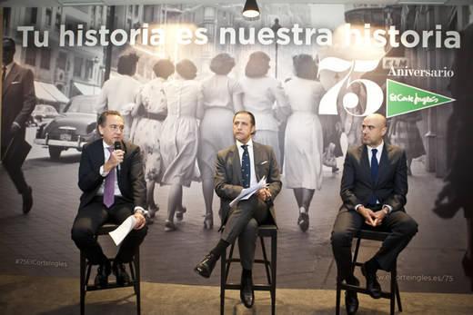 El Corte Inglés inicia una serie de acciones conmemorativas para celebrar su 75º aniversario