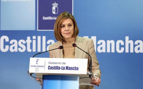 Cospedal preside el acto institucional del Día de Castilla-La Mancha