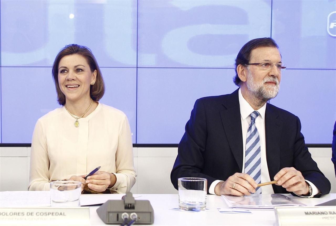 Rajoy y Cospedal buscan zanjar en Toledo la semana 'horribilis' del PP
