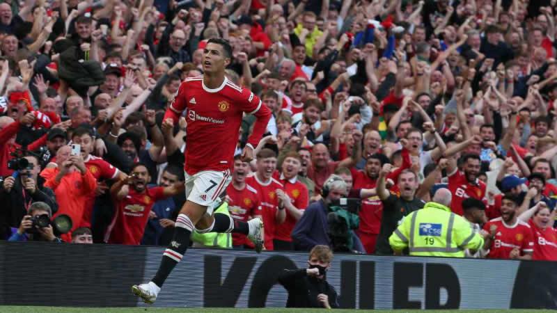 El 'redebut' soñado de Cristiano Ronaldo con el Manchester United: doblete y victoria