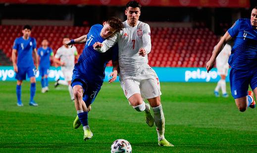 Empate muy intranquilizador y con malas sensaciones de España ante Grecia (1-1)