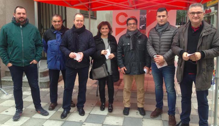 Ciudadanos exige a los Gobiernos central y regional la construcción de las autovías a Teruel y Albacete