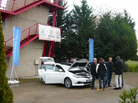 Toyota España participa en el Curso de Especialización de Vehículos Híbridos y Eléctricos del INSIA
