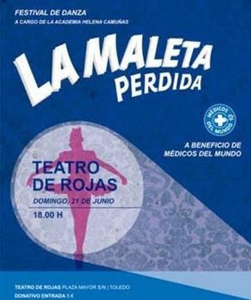 El Teatro de Rojas de Toledo acoge el domingo un festival de danza a beneficio de Médicos del Mundo