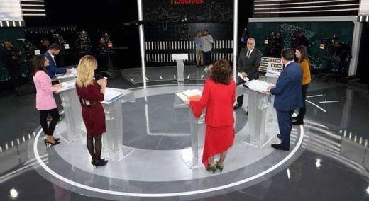 RTVE cierra con los partidos un debate a 7 con los portavoces parlamentarios