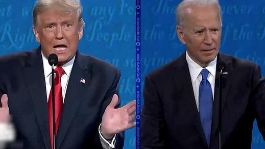 El segundo debate electoral de EEUU, menos bronco y con una victoria por la mínima de Biden sobre Trump