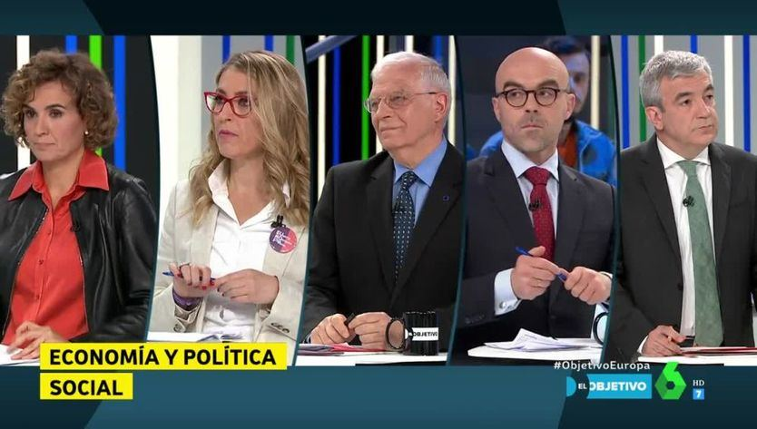 Los inmigrantes y Puigdemont protagonizan el debate de las elecciones europeas