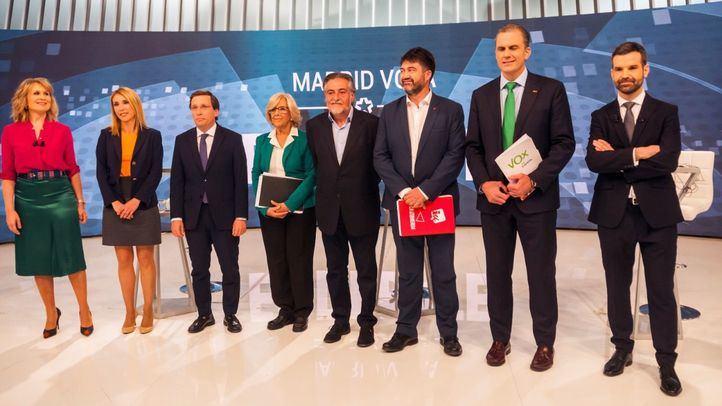 Así fue el debate electoral entre los candidatos a la alcaldía de Madrid