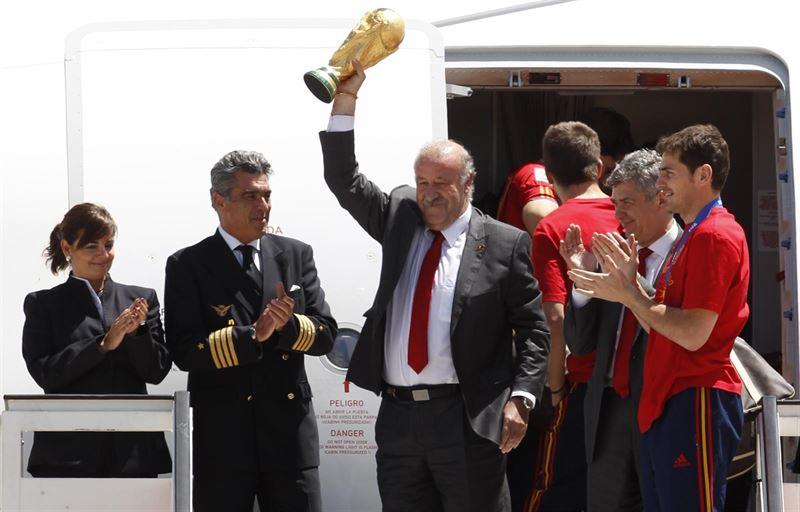 Del Bosque: 7 años de gloria y fracaso de 'La Roja'