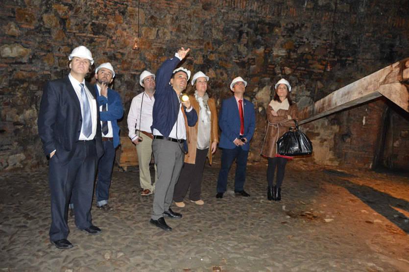 La Junta apoyará a Almadén para atraer turismo internacional y nacional