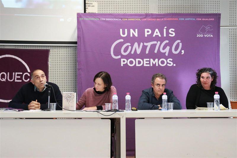 'El programa de Podemos, el más participativo de la historia española'