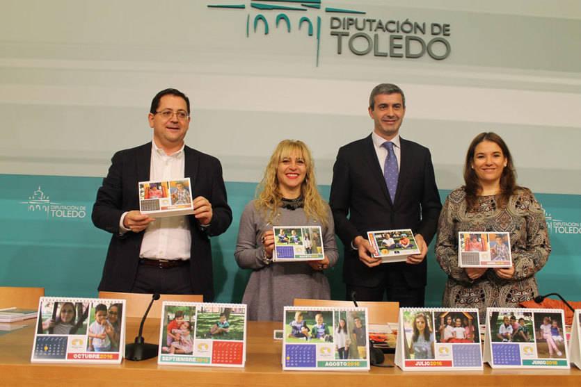 Afanion edita 2.500 calendarios para recaudar fondos en la lucha contra el cáncer infantil