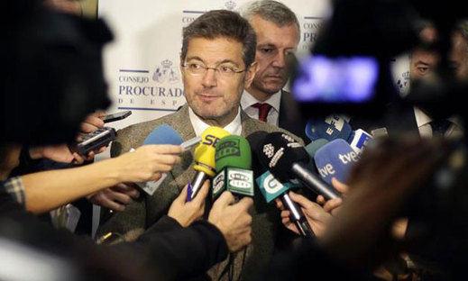 Rafael Catalá apuesta por negociar a nivel político sobre el ATC