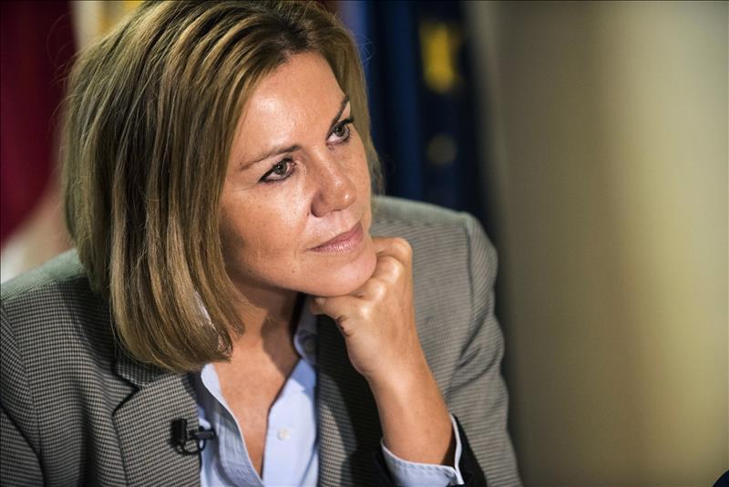 A Cospedal 'le encantaría' volver a ser candidata a la Presidencia de Castilla-La Mancha