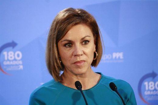 Cospedal no ve necesario enviar ninguna carta renunciando a los privilegios como expresidenta regional