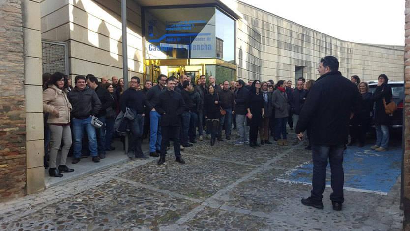 CSI.F también saldrá a la calle contra el Gobierno regional por 'tomar el pelo' a los empleados públicos