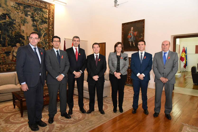 Las cinco diputaciones firman su adhesión al Plan de Empleo de la Junta
