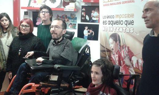 Echenique dice en Guadalajara que ve a Podemos en condiciones de ser
