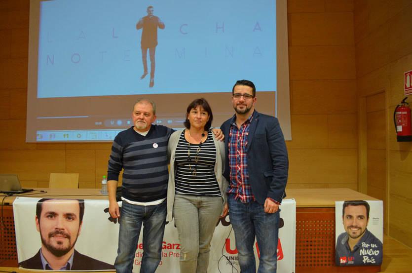 Unidad Popular-IU cree que el mensaje de Alberto Garzón 'está calando' en la juventud