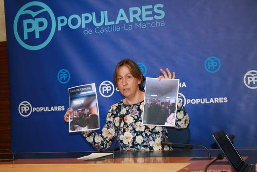 El PP se pregunta por qué Page estaba de compras en Madrid en lugar de ir a la manifestación contra el trasvase