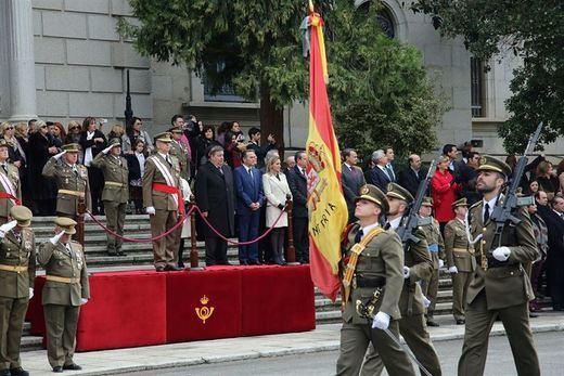 La Academia de Infantería de Toledo celebra el Día de la Inmaculada