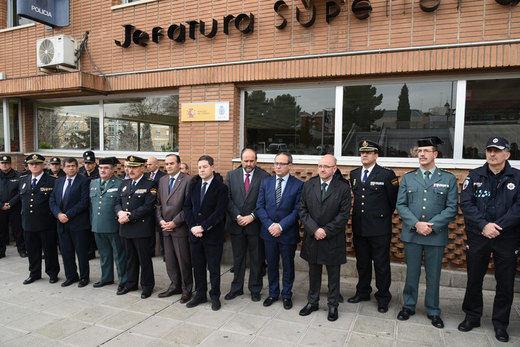 Silencio en Castilla-La Mancha como homenaje a los dos polícias fallecidos en Kabul