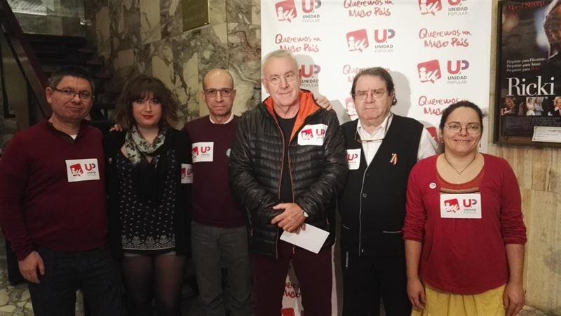 Cayo Lara acusa a los poderes económicos de 'intentar acallar' a Unidad Popular-IU