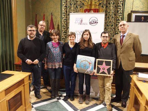 Cuenca estrena una red de itinerarios por la ciudad diseñados por estudiantes de Bellas Artes