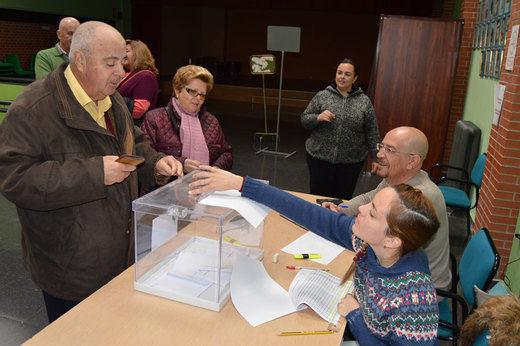 Los vecinos de Valverde, Las Casas y La Poblachuela eligen a sus alcaldes pedáneos