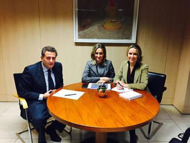Milagros Tolón busca la complicidad del Gobierno de Rajoy con la Capitalidad Gastronómica de Toledo