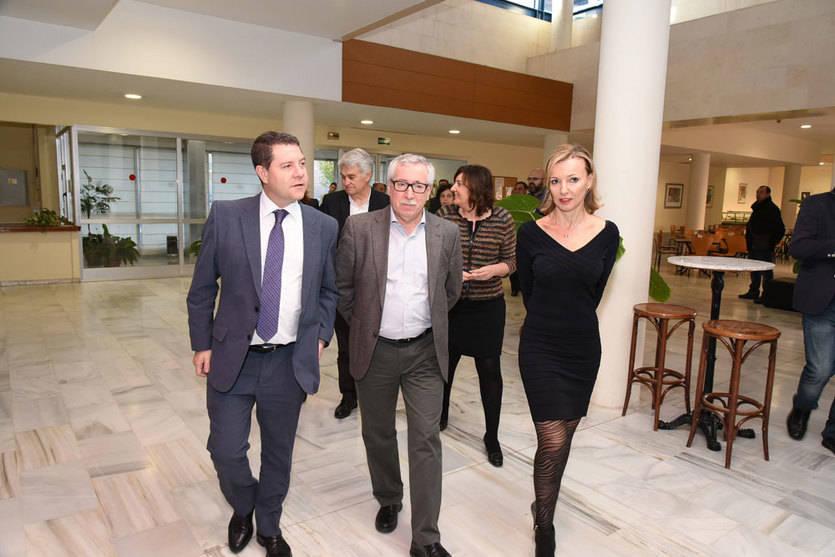 A Toxo (CCOO) le gusta el Plan de Empleo de Castilla-La Mancha y espera que 'cunda el ejemplo' en el país