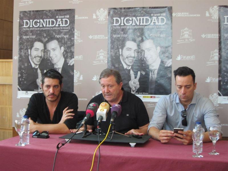 'Dignidad', teatro en el Rojas de Toledo que conjuga política, amistad y corrupción