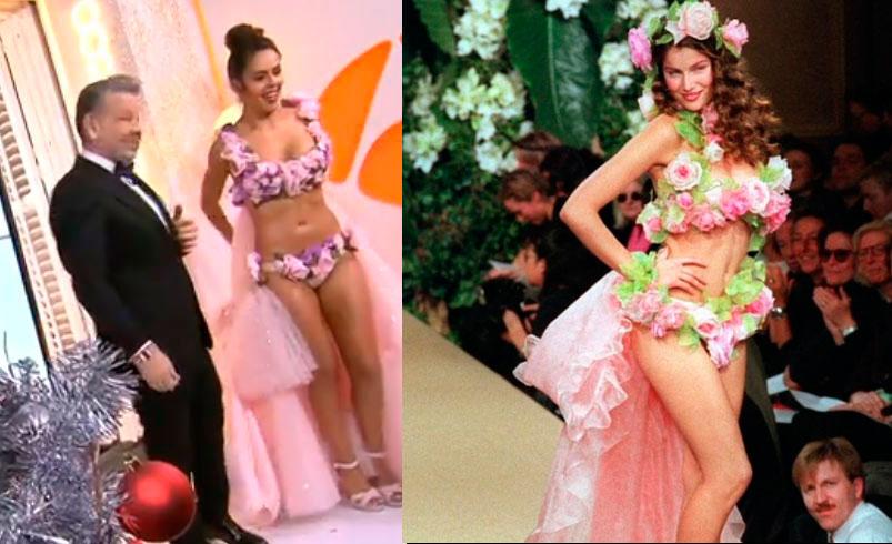de143b496 El  original  vestido de Cristina Pedroche vuelve a ser la comidilla de  Nochevieja