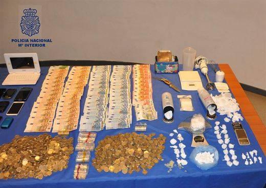 Desarticulado un grupo criminal dedicado al tráfico de drogas en Talavera de la Reina