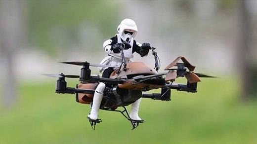 Regalos de Navidad 2016: drones oficiales de Star Wars