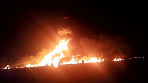 Ya son al menos 66 los muertos en México por la explosión de una tubería de petróleo saqueada