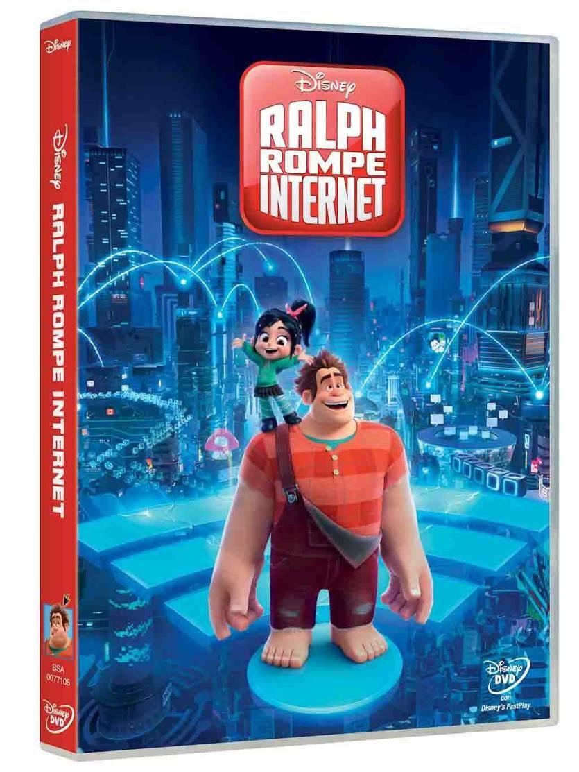 'Ralph rompe Internet' llega en DVD y Bluray el próximo 10 de abril