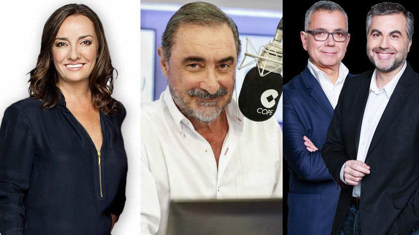 EGM, primera oleada 2018: la SER sigue líder pero COPE y Onda Cero le van comiendo la tostada